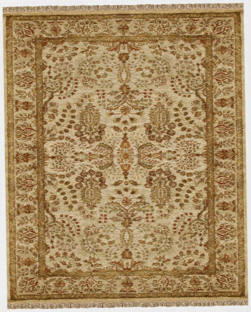 Elegance Collection New Zealand Wool Area Rug In Beige By Bd Fine