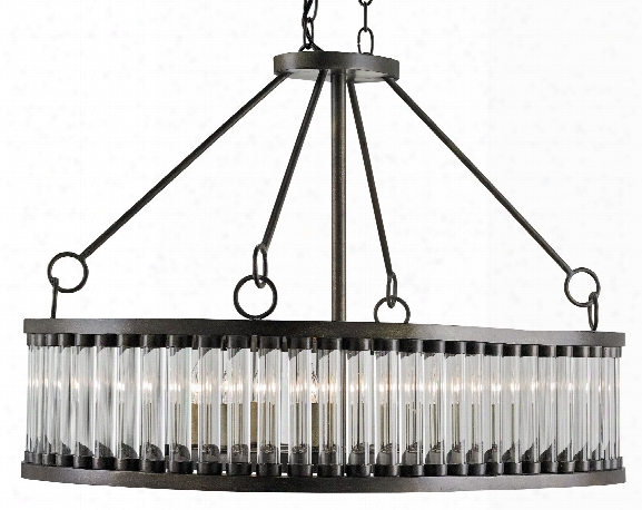 Elixir Rectangular Chandelier Design By Currey & Company