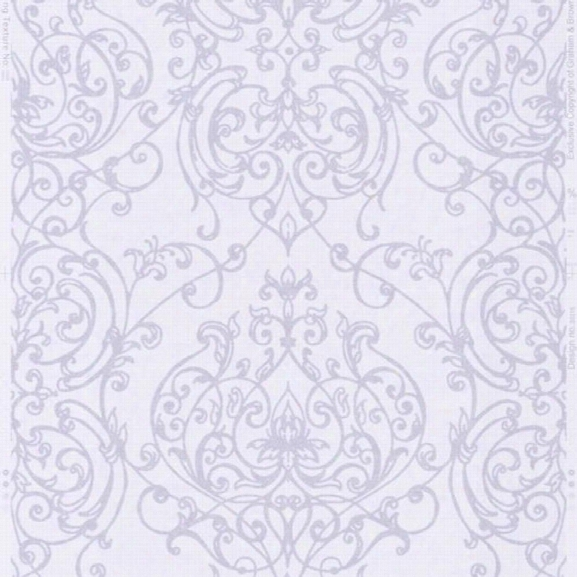 Empress Damask Wallpaper In Lilac From The Elegance Collection By Graham & Brown