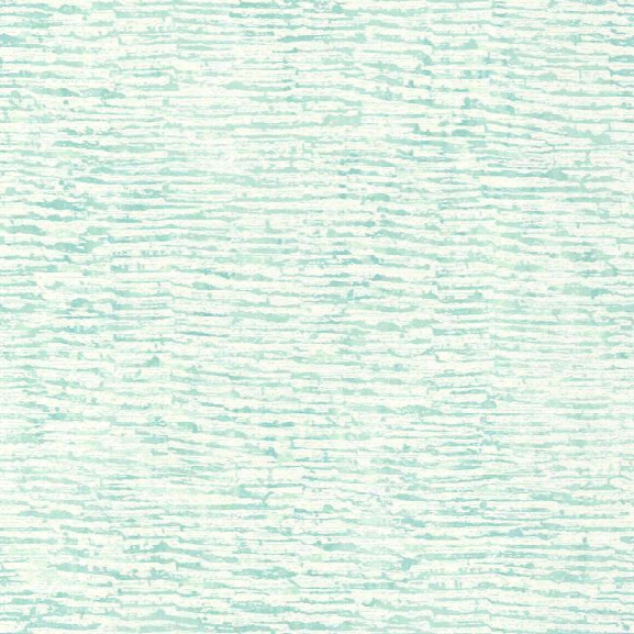 Encaustic Wallpaper In Aqua Design By Carey Lind For York Wallcoverings
