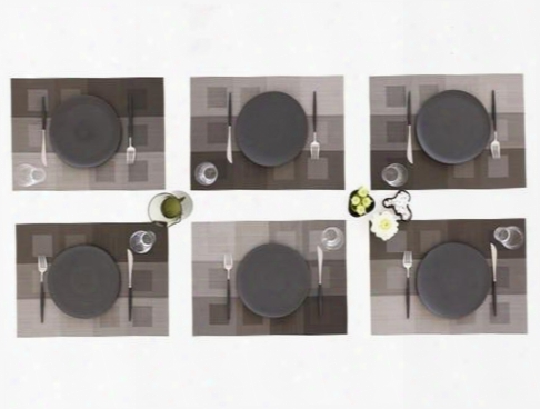 Engineered Squares Tablemat In Multiple Colors Design By Chilewich