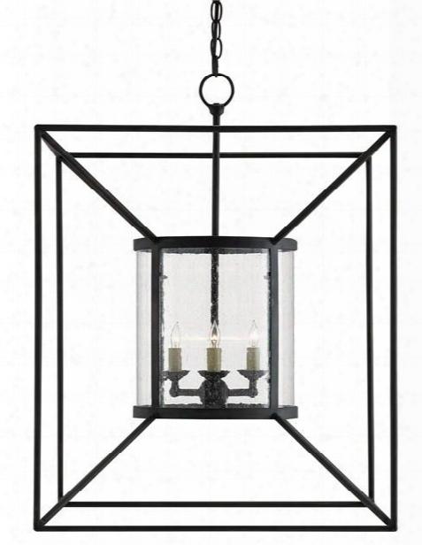 Ennis Lantern Design By Currey & Company