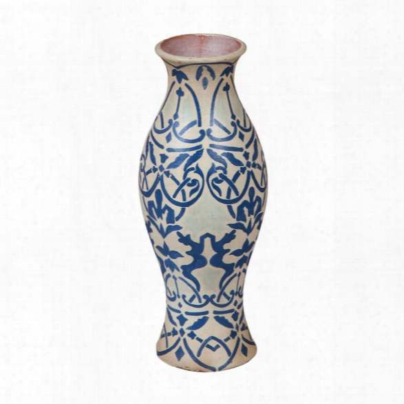 European Damask Vase Design By Burke Decor Home