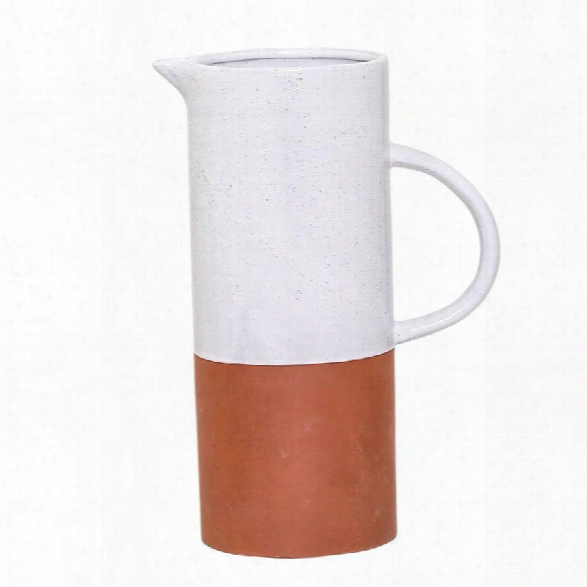 Evelyse Terra Cotta Pitcher Design By Bd Edition