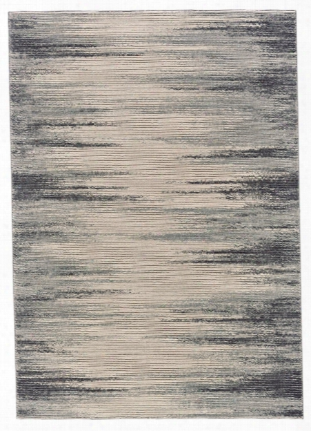 Expression Rug In Ivory & Charcoal Design By Bd Fine