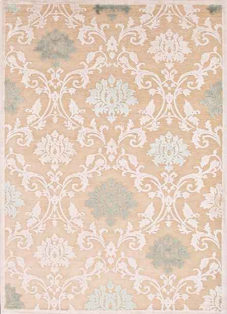 Fables Rug In Biscotti & Sand Shell Design By Jaipur