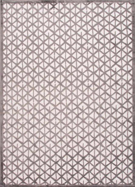 Fables Rug In Flint Grey & Star White Design By Jaipur