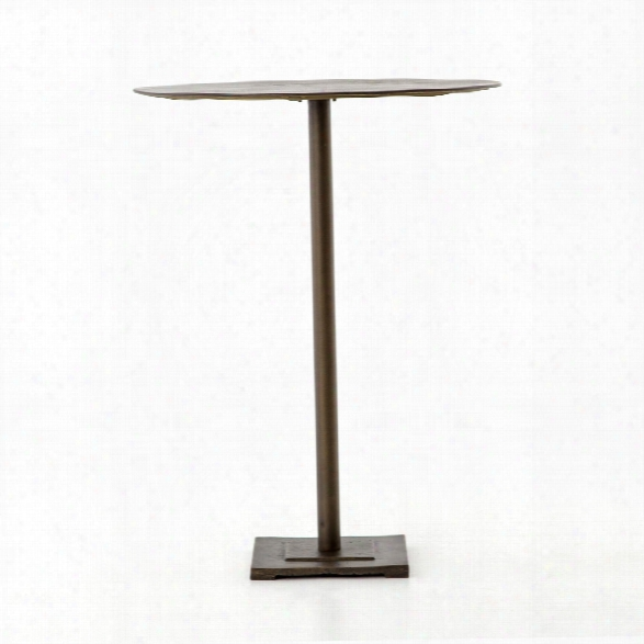 Fannin Bar Table In Age D Brass