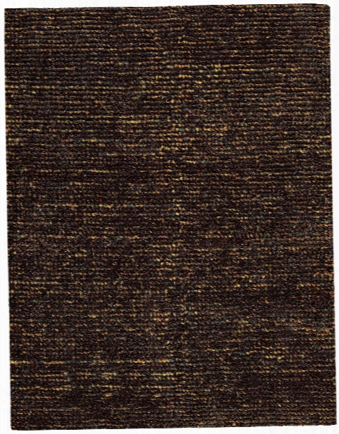 Fantasia Collection Wool Blend Area Rug In Brown Design By Nourison