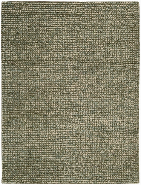 Fantasia Collection Wool Blend Area Rug In Slate Design By Nourison