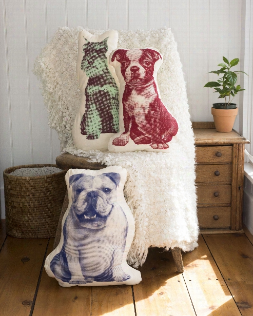 Fauna Dog Pillow In Various Dog Shapes Design By Areaware