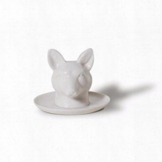 Fauna Series Fox Head Ring Holder Design By Imm Living