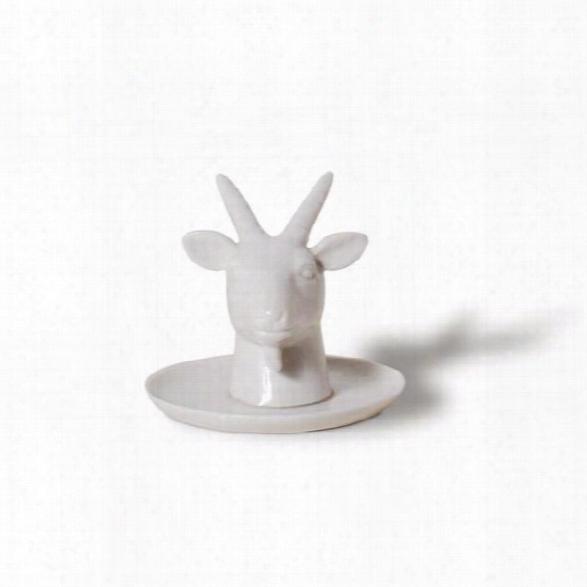 Fauna Series Goat Headd Ring Holder Design By Imm Living
