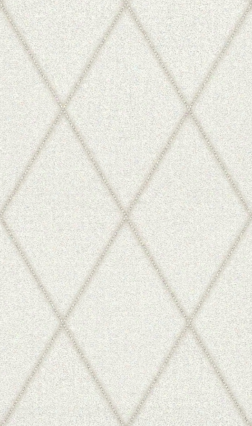 Faux Leather Diamonds Wallpaper In White By Bd Wall