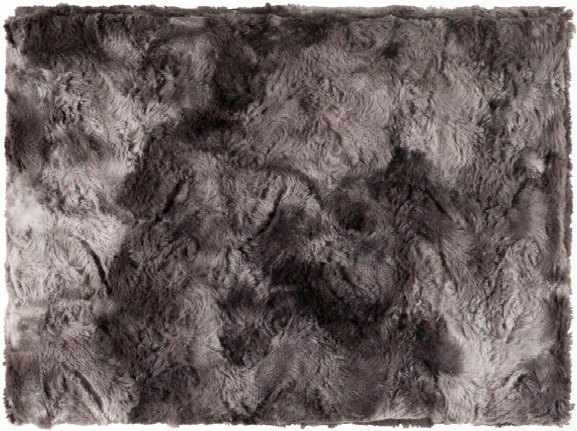 Felina Throw Blankets In Black Color By Surya
