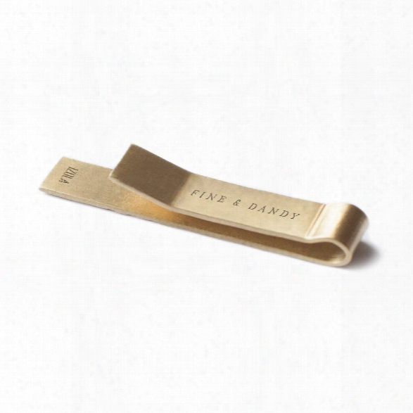 Fine And Dandy Tie Clip Design By Izola