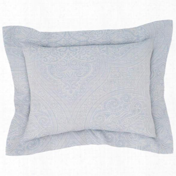 Firenze Delphinium Decorative Pillow Design By Luxe