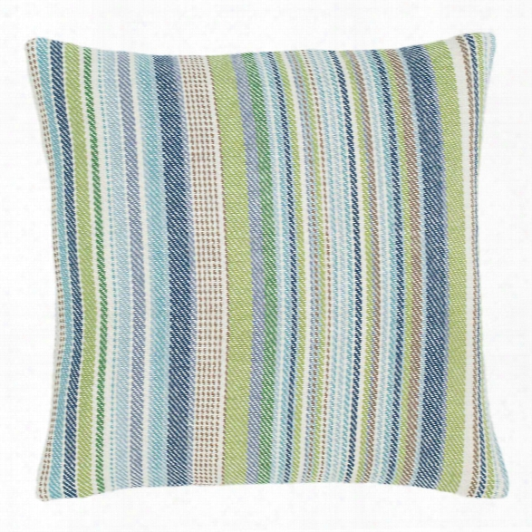 Fisher Ticking Woven Cotton Decorative Pillow By Dash Albert