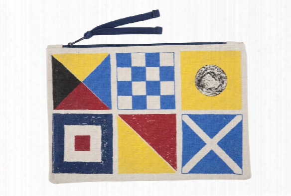 Flags Sketch Canvas Pouch Design By Thomas Paul