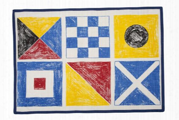 Flags Sketch Tea Towel Design By Thomas Paul
