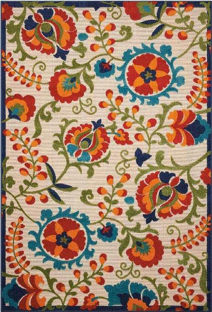 Aloha Rug In Multicolor Design By Nourison