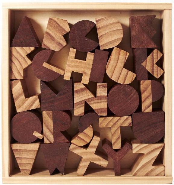Alphabet Blocks Design By Areaware
