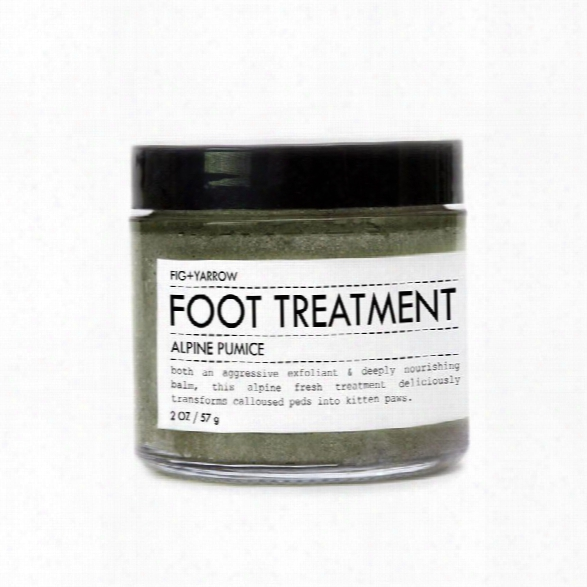 Alpine Foot Pumice Trial/travel Size Design By Fig And Yarrow