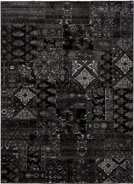 Amadeo Rug In Black & Camel Design By Surya