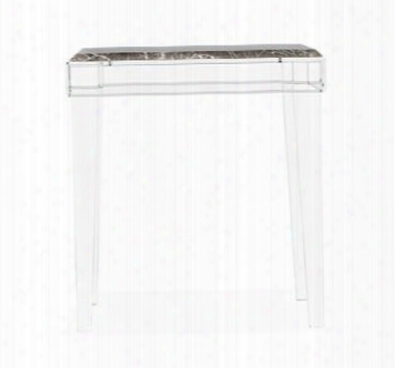 Amal Italian Gray Side Table Design By Interlude Home
