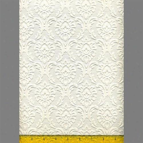 Anaglypta Premium Textured Vinyl Cornelian Classical Paintable Wallpaper By Burke Decor