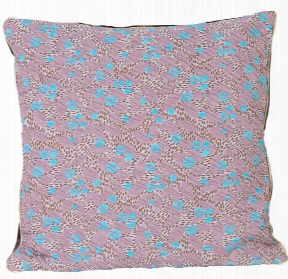 Flower Salon Cushion In Rose Design By Ferm Living