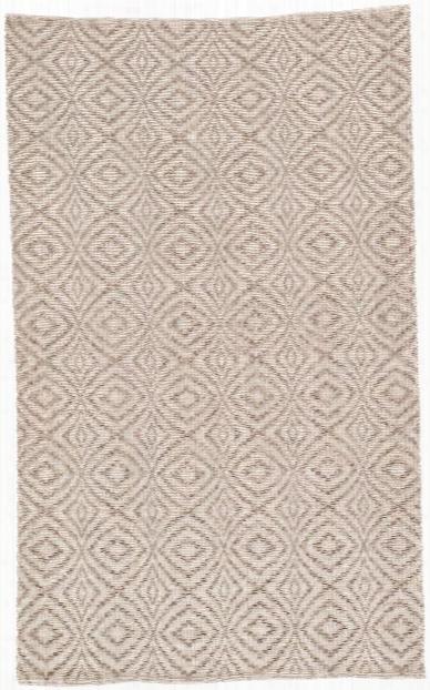 Flume Handmade Trellis Taupe & Cream Area Rug Design By Jaipur