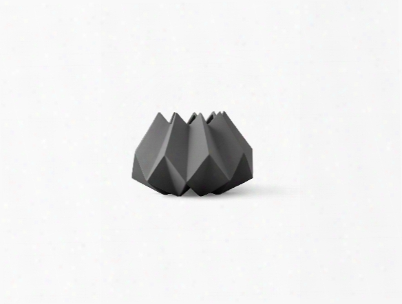 Folded Vase In Carbon Design By Menu