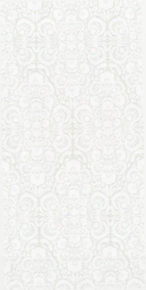 Folk Flower Wallpaper In Ivory And White Design By Kreme