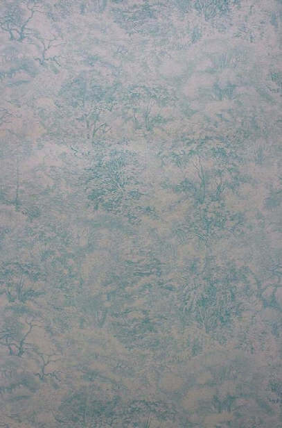 Folyo Wallpaper In Aqua And Metallic Gilver From The Pasha Collection By Osborne & Little