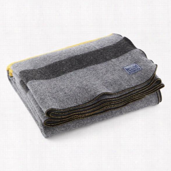 Foot Soldier Military Wool Blanket Design By Faribault