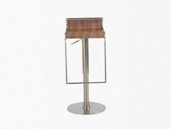 Forest Bar/counter Stool In Walnut Design By Euro Style