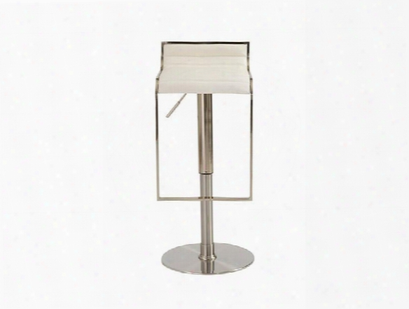 Forest Bar/counter Stool In White Design By Euro Style