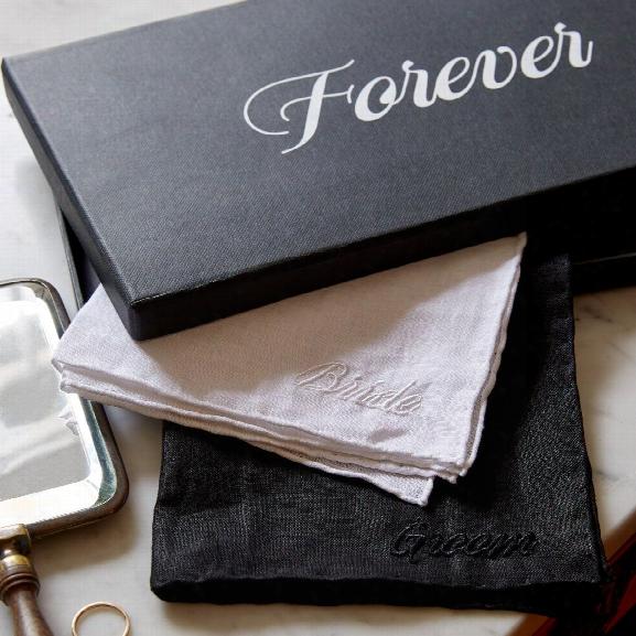Forever Embroidered Handkerchiefs Design By Sir/madam