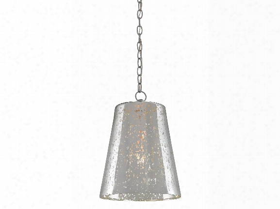 Foxtrot Pendant In Antique Silver Design By Currey & Company