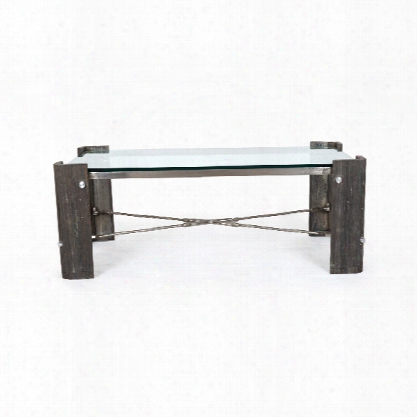Frankie Coffee Table In Rough Black Marble