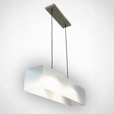 Frosted Acrylic Hanging Lamp Design By Gus Modern