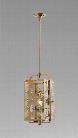 Allison One Light Pendant Lamp design by Cyan Design