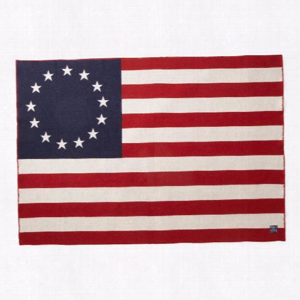 Betsy Ross Flag Throw Design By Faribault