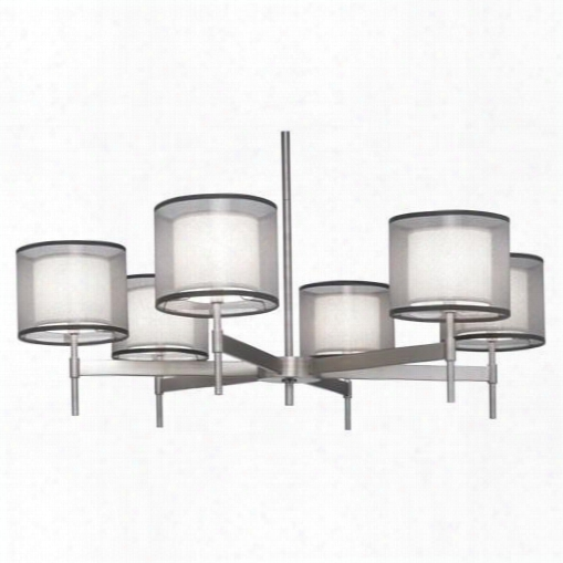 Saturnia Collection 6-light Chandelier Design By Jonathan Adler
