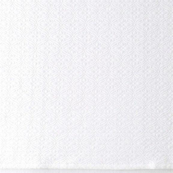 Savina White Matelasse Coverlet Design By Luxe