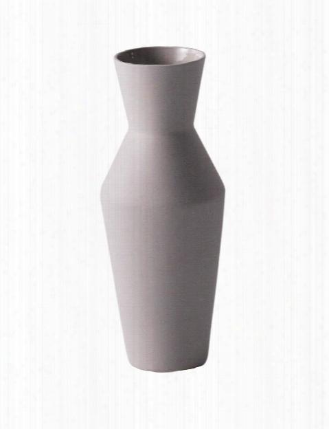 Sculpt Vase Corset In Grey Design By Ferm Living