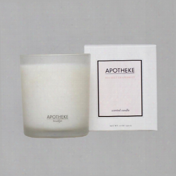 Sea Salt Grapefruit Candle Design By Apotheke