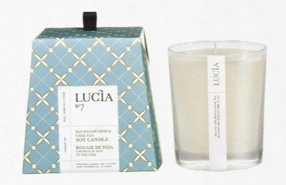 Sea Watercress & Chai Tea Candle Design By Lucia