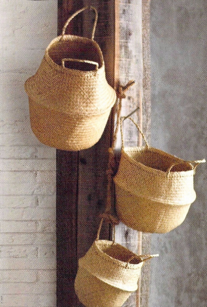 Seagrass Convertible Baskets By Roost